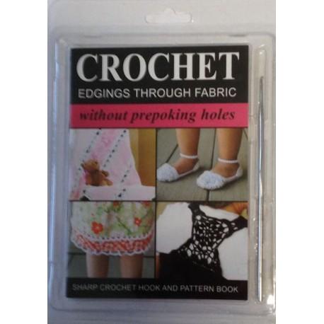 Sharp crochet hook incl mønsterbog
