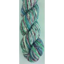 Martha oeko tex - 882911 - blå rust turkis