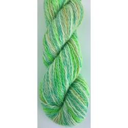 Martha oeko tex - 882912 - gul grøn turkis